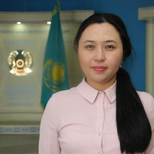 Абишева Айжан Жанарбеккызы
